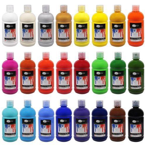 Комплект акрилни бои Artina 24 цвята по 500мл.