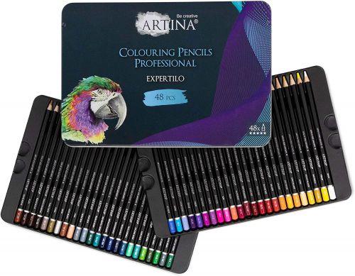 Професионален комплект от 48 бр. моливи Artina Expertilo