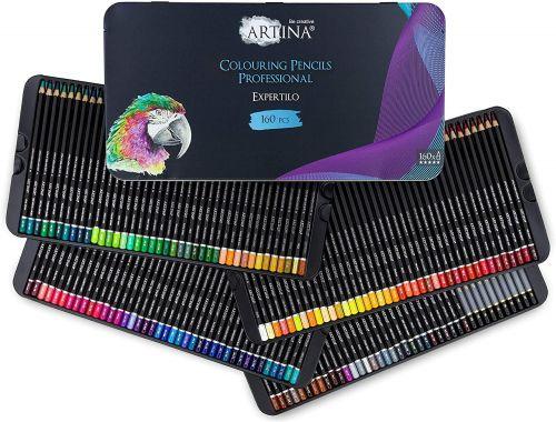 Професионален комплект от 160 бр. моливи Artina Expertilo