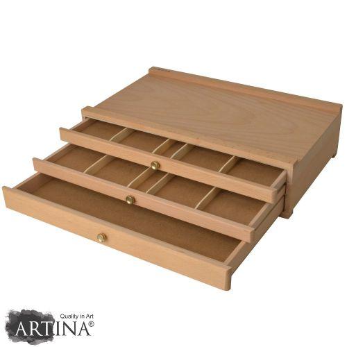 Кутия за художествени материали Тройс