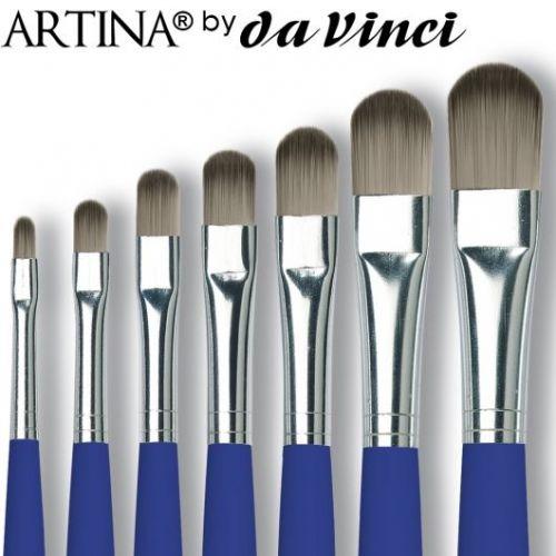 Четка Da Vinci тип котешко езиче - Различни размери