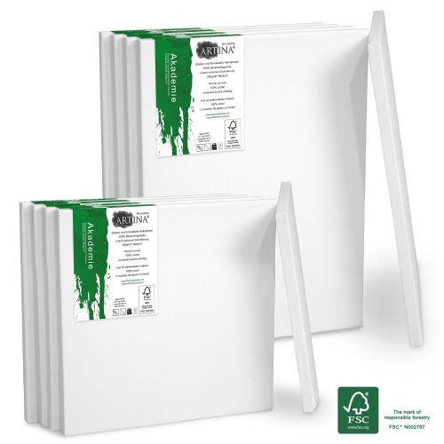 Комплект платна за рисуване Artina Гренобъл 10 броя със сертификат FSC®