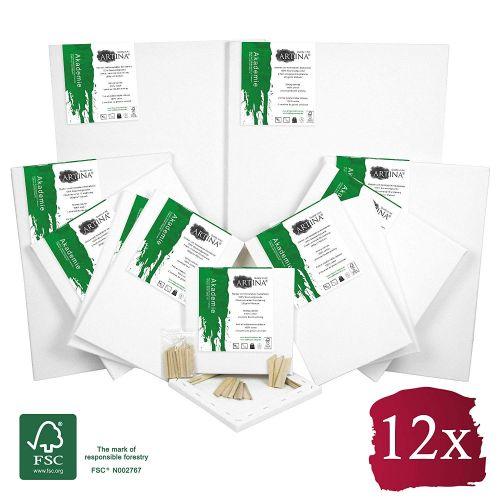 Комплект платна за рисуване Artina 12 броя със сертификат FSC®